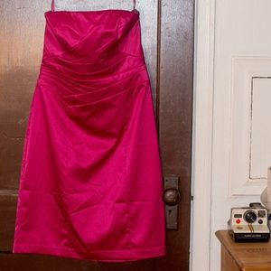 NWT The Limited Hot Pink Prom Dress Size 10